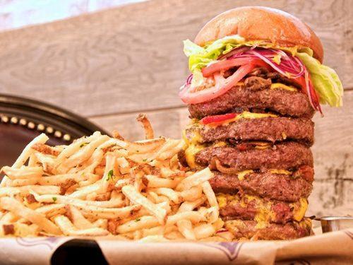 a huge burgers 22