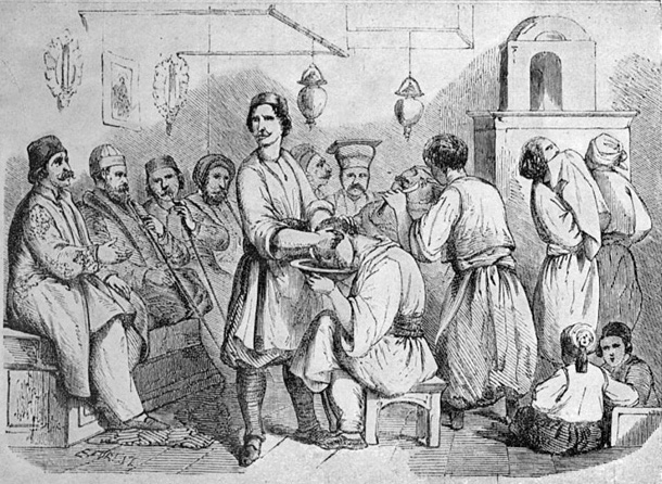 Bucharest Barbershop 1842
