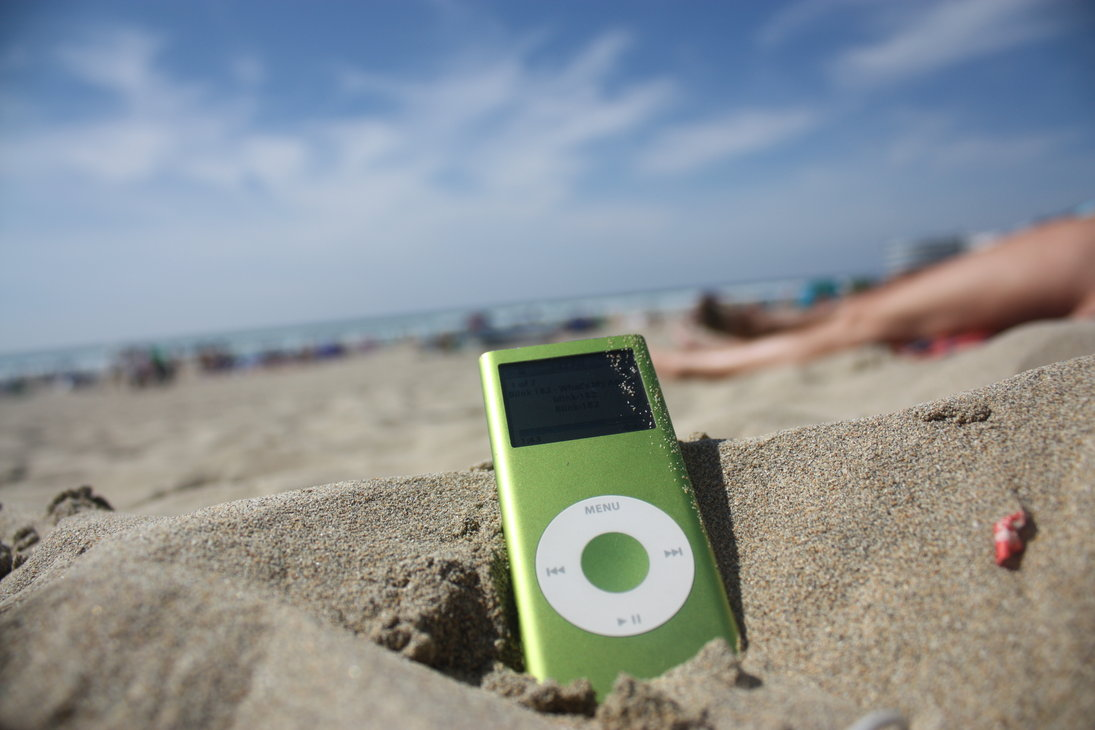 ipod beach by wolfkiing d4anwpc