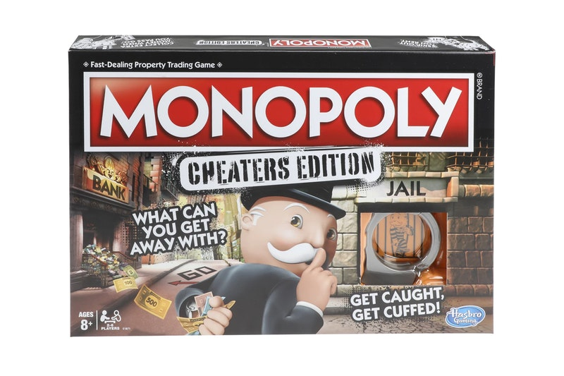monopoly cheaters edition release 2