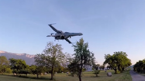 Drone βγαλμένο από τα έγκατα του Star Wars