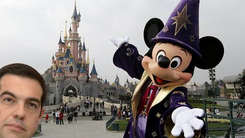 Δεν θέλει πολλή σκέψη για να καταλάβεις τι έκανε ο Τσίπρας στην Disneyland