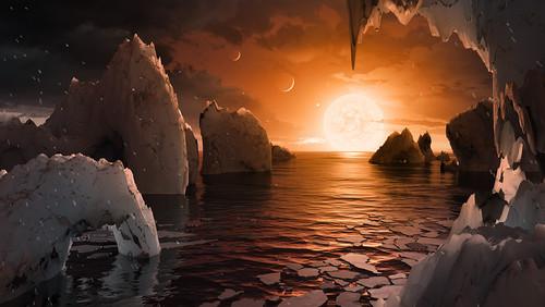 Πώς θα ήταν η ζωή στο νέο ηλιακό σύστημα που ανακάλυψε η NASA;