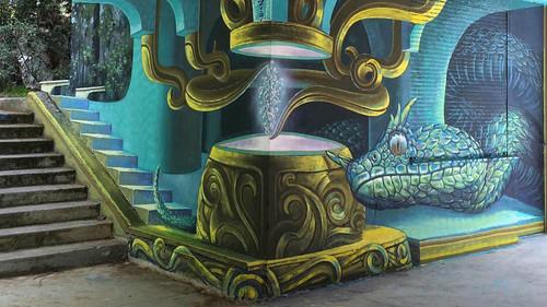 Το νέο γκράφιτι του WD δίνει ζωή στους τοίχους της Αθήνας
