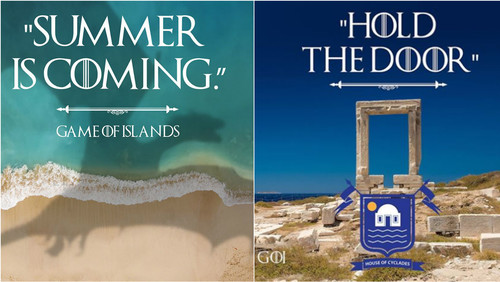 Το Game of Islands μεταφέρει το GoT σε Αιγαίο και Ιόνιο