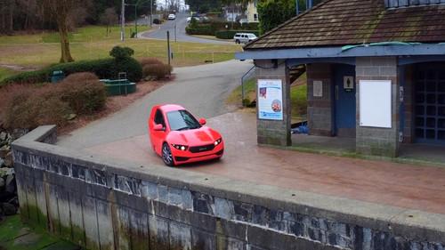 Τρίκυκλο αυτοκίνητο για να μην «κοπείς» στην οπισθογωνία