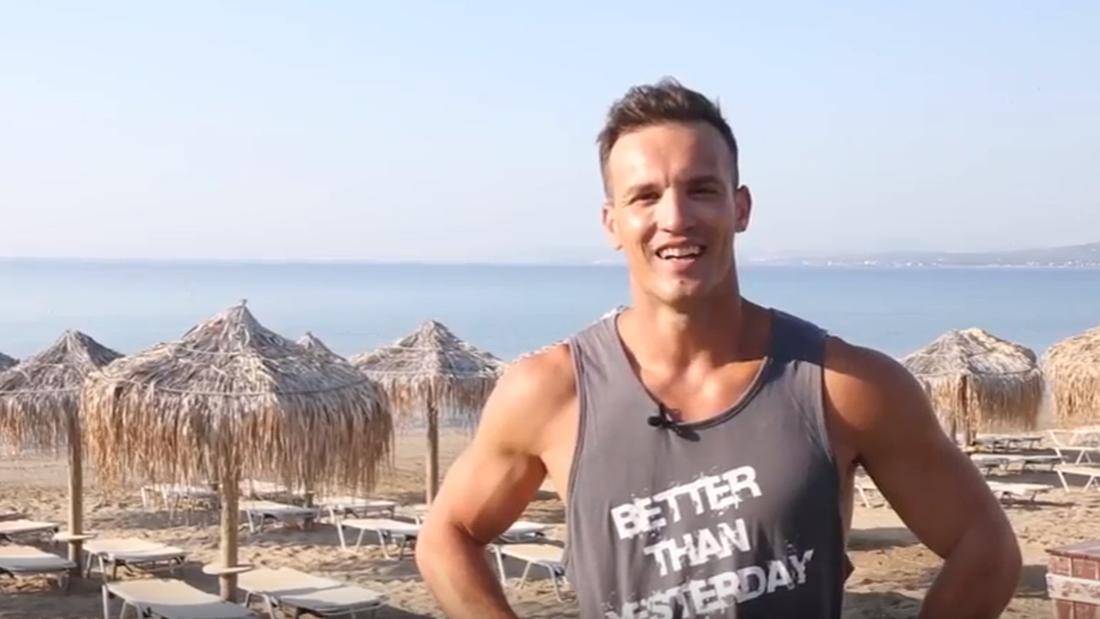 5 ασκήσεις που θέλουν μόνο παραλία