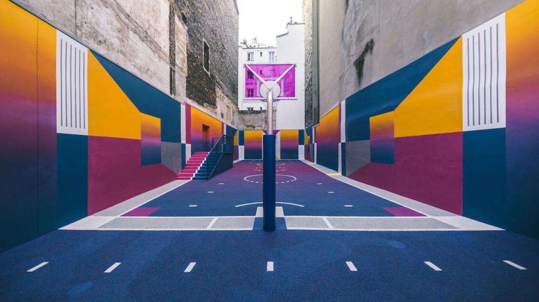 Το πιο ωραίο ανοιχτό γηπεδάκι μπάσκετ που έχουν δει τα μάτια μας