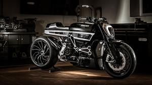 «Πειραγμένη» Ducati για ιερόσυλες δίτροχες φαντασιώσεις