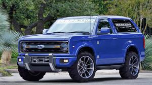 Το νέο Ford Bronco θα σε κοιτάει γεμάτο αυθάδεια