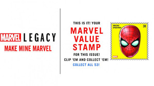 Έρχονται γραμματόσημα με ήρωες της Marvel