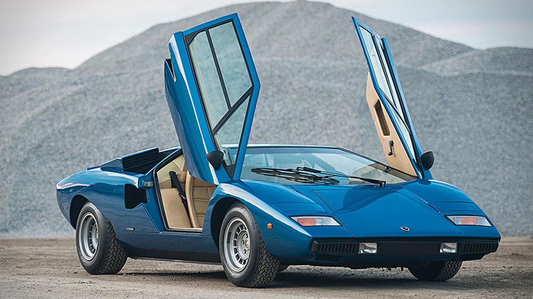 Μας τύφλωσε η φουτουριστική ομορφιά μιας θρυλικής Lamborghini