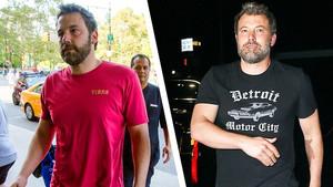 Αυτά τα t-shirts με στάμπες δε σου αξίζουν Μπεν Άφλεκ!