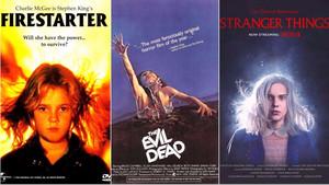 Ποστεράκια Stranger Things με επιρροή από ταινίες vintage