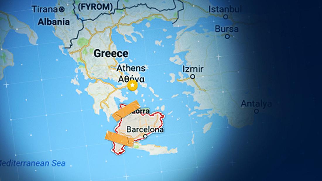 ΑΠΟΚΛΕΙΣΤΙΚΟ: Η Ελλάδα κατέθεσε επίσημη πρόταση στην Καταλονία για προσάρτηση!