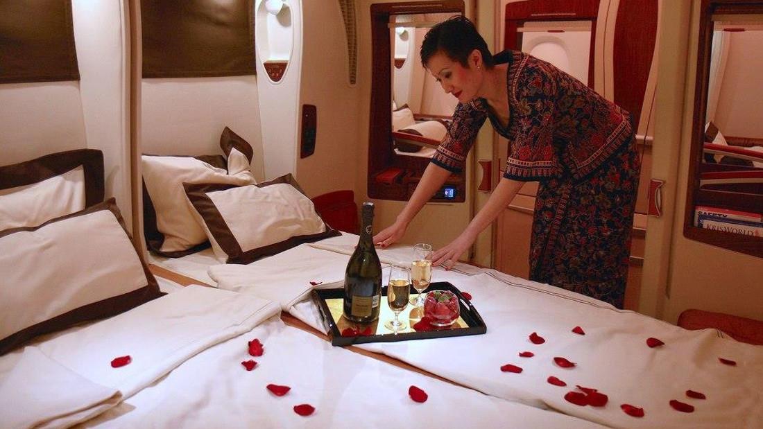 Υπέρδιπλα κρεβάτια μέσα σε αεροπλάνα;