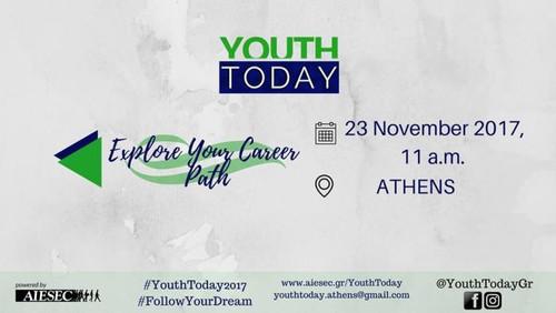 Youth Today Athens: Μετά το πτυχίο, τι;