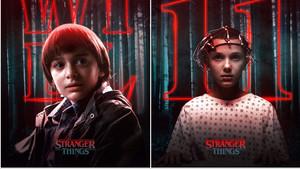 Τα spooky αφισάκια με τους χαρακτήρες  του Stranger Things τα 'χεις δει;