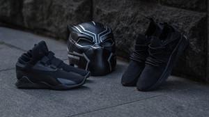 Ψήνεται κανείς για παπουτσάκι Black Panther;