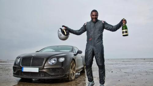 Θεούλης Idris Elba: Μπήκε στη νέα Bentley και έσπασε το ρεκόρ ταχύτητας