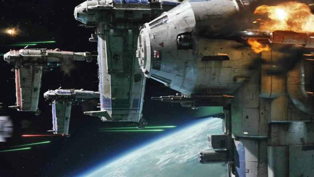 Έτσι γυρίστηκε η αρχική σκηνή μάχης στο «The Last Jedi»