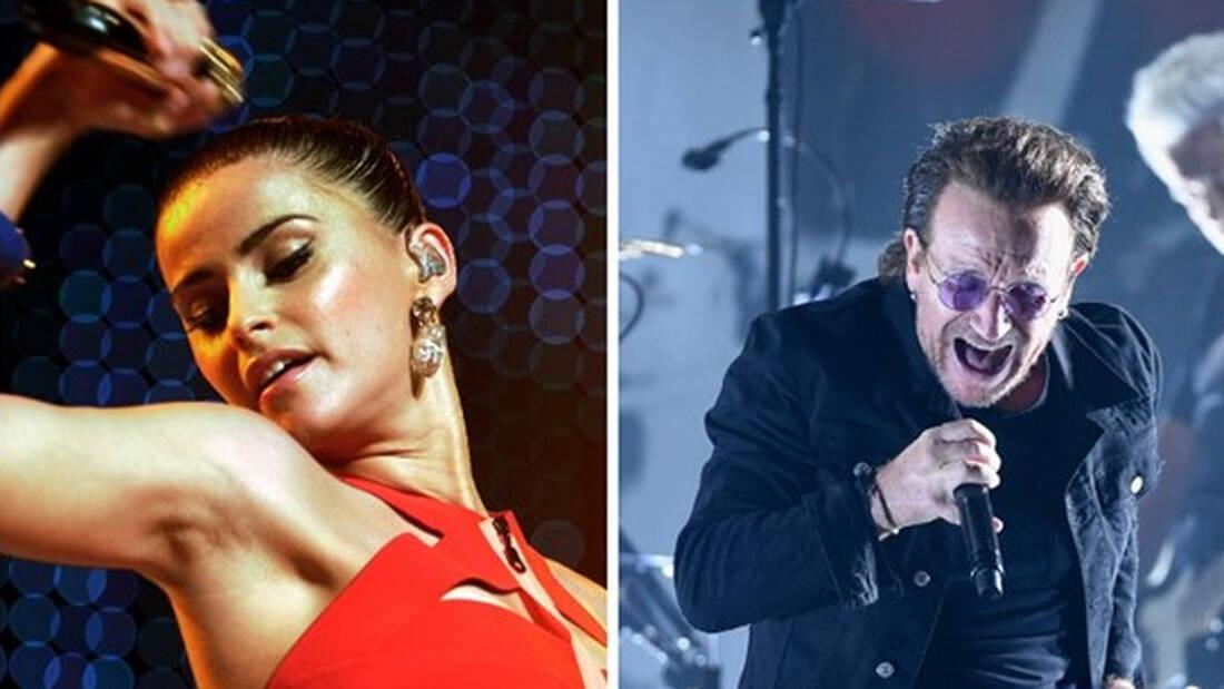 Τα τραγούδια των διοργανώσεων: Nelly Furtado ή Bono και Edge;
